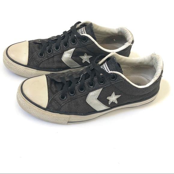 Converse sparkle glitter sneakers